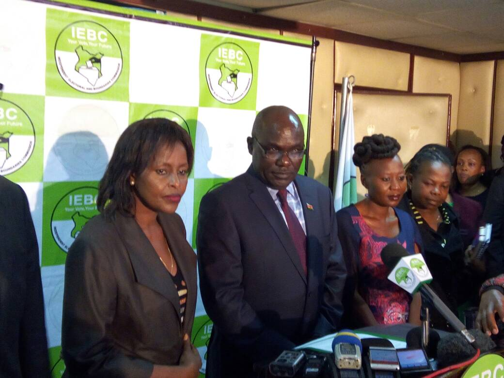 IEBC Sets October 17th as Date for Repeat Presidential ...