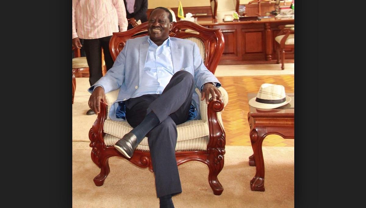 Uhuru Kenyatta will see fire, Raila Odinga says