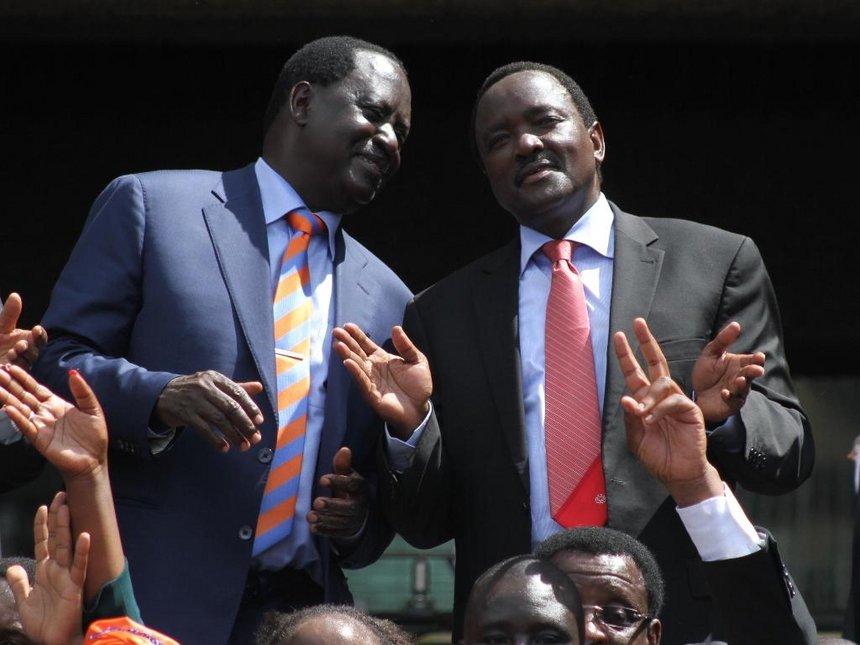 If it's death, let it be. Raila Odinga says on treasonous oath