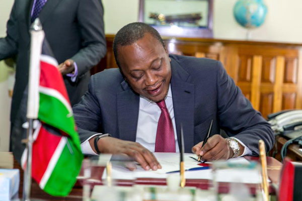 Kenya signs controversial cyber-crimes act into law