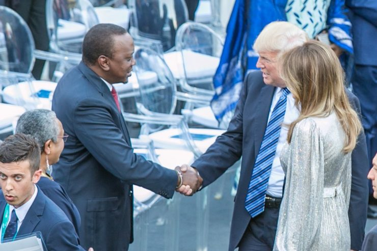 When President Uhuru Will Meet Donald Trump at the White House