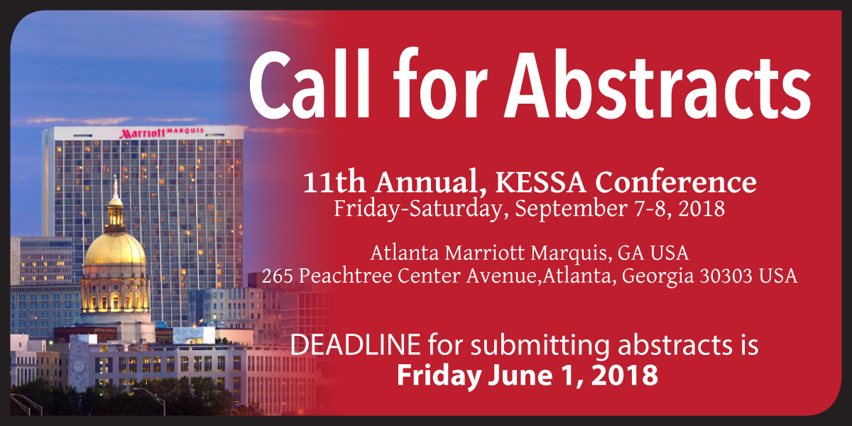 KESSA 2018 Conference - Call for Abstracts
