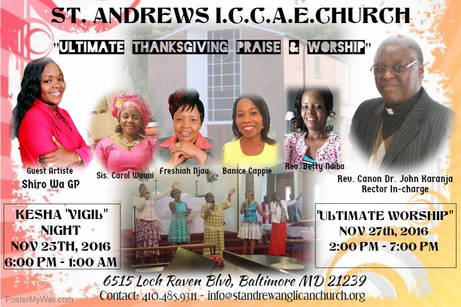 Ultimate Thanksgiving Praise & Worship