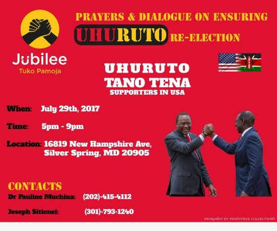 Diaspora with Uhuruto Tano Tena Forum in Silver Spring, Maryland: Sat, July 29th
