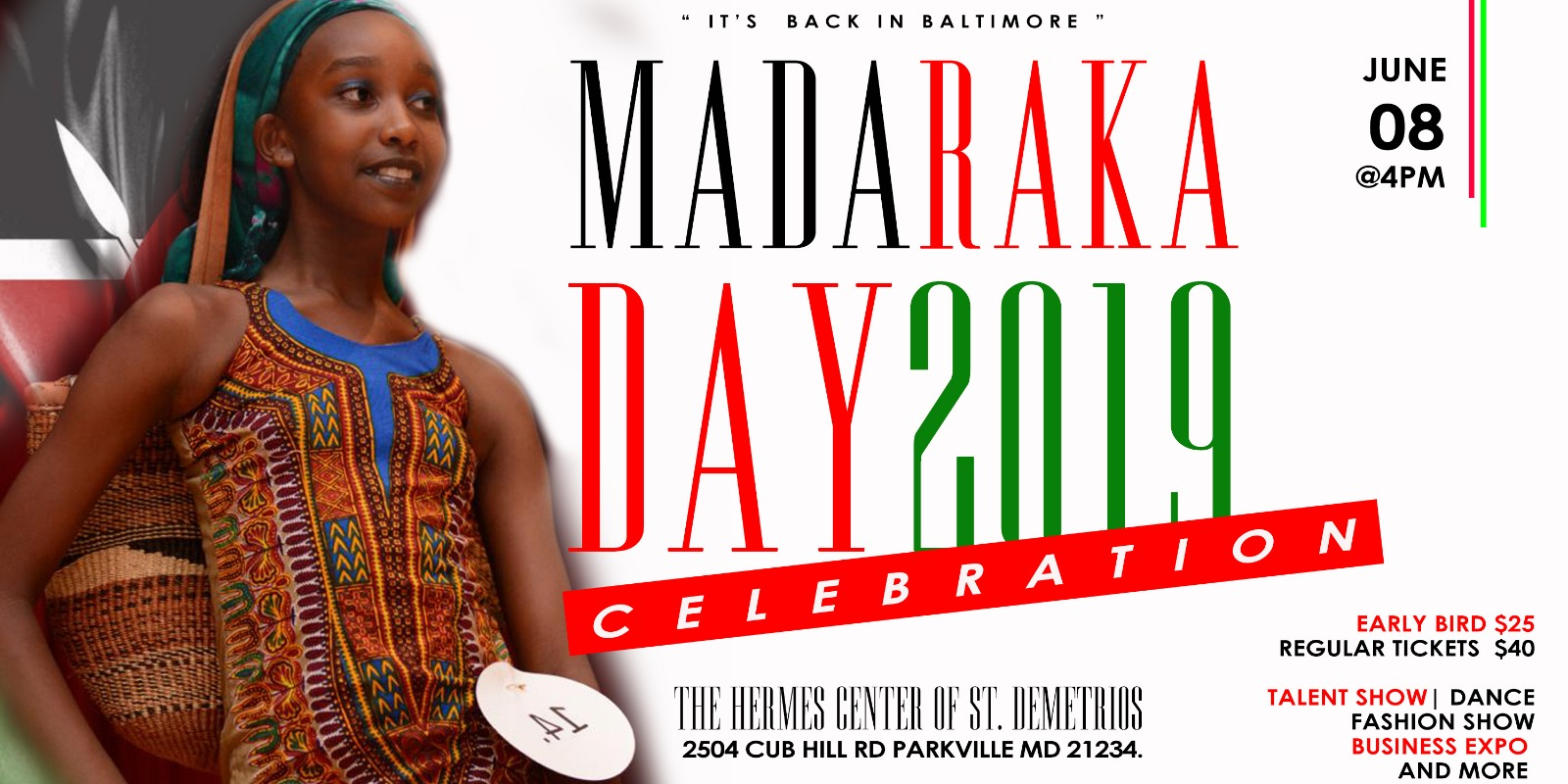 Madaraka Day Baltimore June 8th 2019