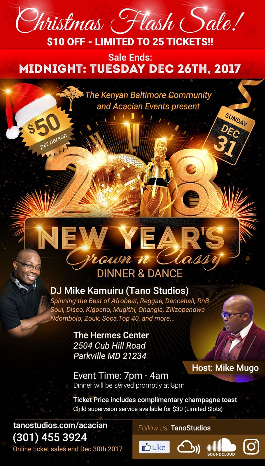 New Year's Eve Celebrations - DJ Mike Kamuiru