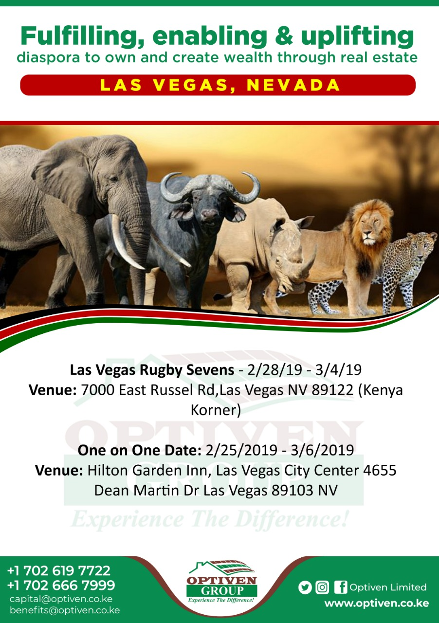 Optiven Las Vegas 2019 - Kenya Korner