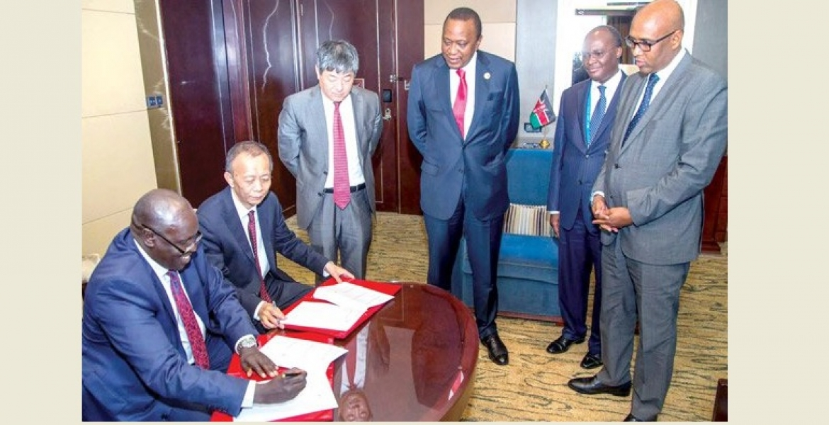 President Uhuru Secures Sh359 Billion from China for Standard Gauge Railway Extension to Kisumu