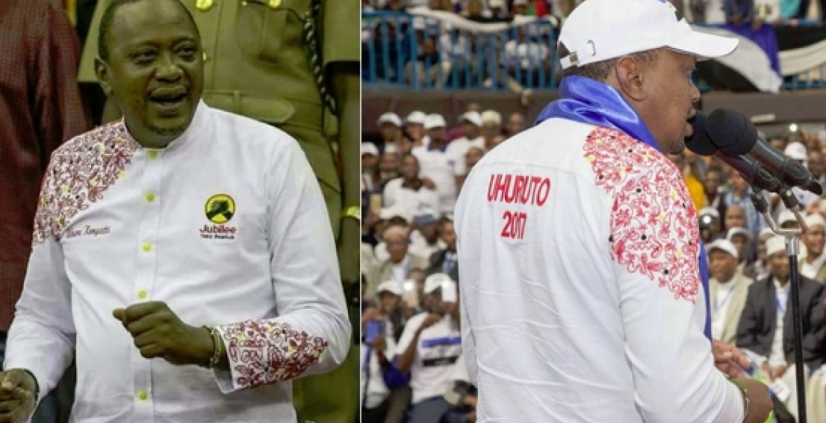 New President Uhuru Designer Shirt Receives High Marks