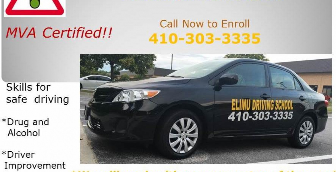 Elimu Driving School in Baltimore, Maryland Enrolling for Driving Classes