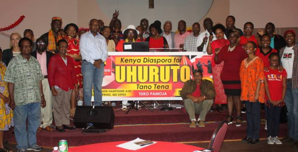 Kenyan Diaspora Group in the US Endorses President Uhuru's Re-Election