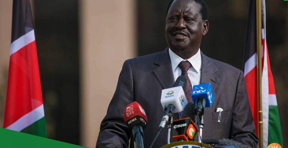 Raila Disowns Advert Asking NASA Supporters to Boycott Safaricom Products