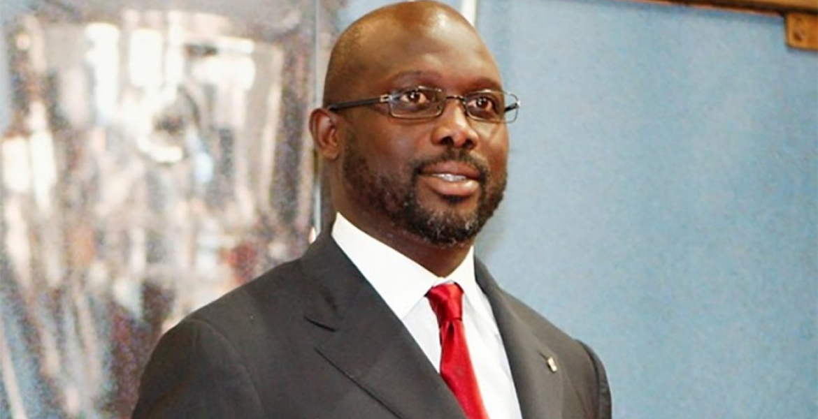Former Football Great George Weah Leads in the Race for Liberian President