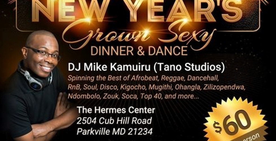 2018 New Year's Eve Celebration in Baltimore, MD with DJ Mike Kamuiru