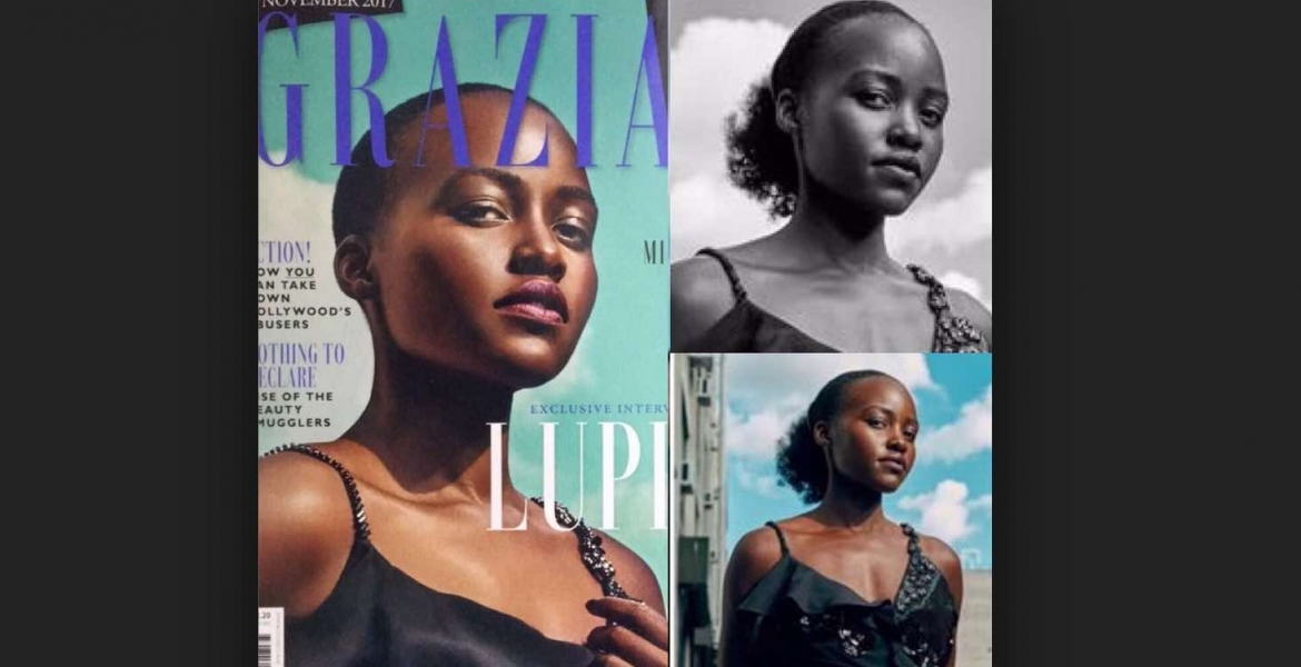 Kenyan Hollywood Actress Lupita Nyong'o Hits Out at UK Magazine for Photoshopping Her Kinky Hair