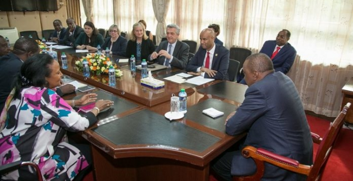 Canadian Immigration Minister Pays a Courtesy on President Uhuru, Pledges to Strengthen Ties with Kenya