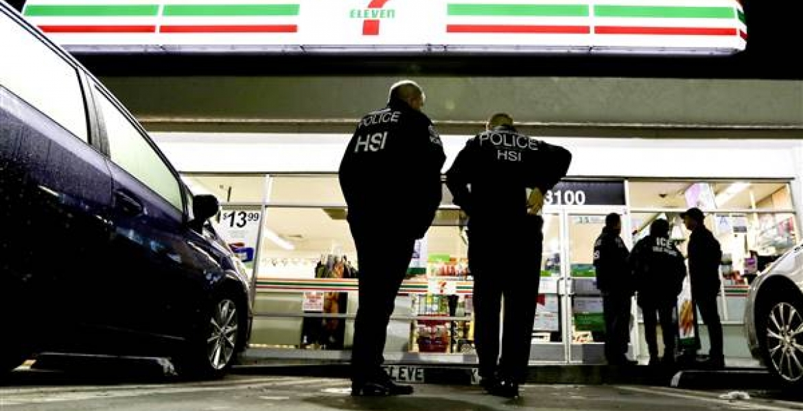 ICE Raids 7-Eleven Stores across the US in Crackdown on Undocumented Workers