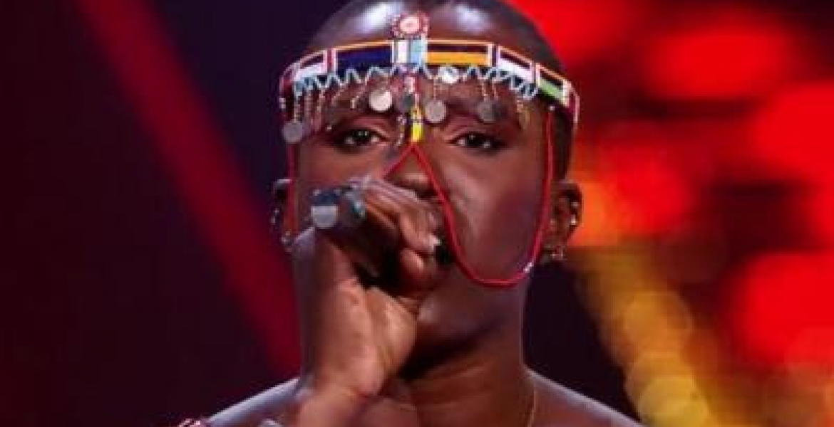 Kenyan Singer Neema Ntalel Sails to the Finals of The Voice of Holland Competition