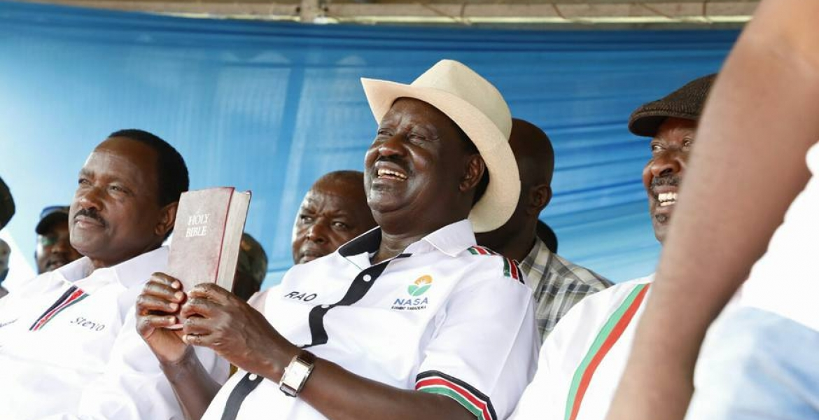 NASA Dismisses Reports that it Changed Raila's Swearing-in Venue