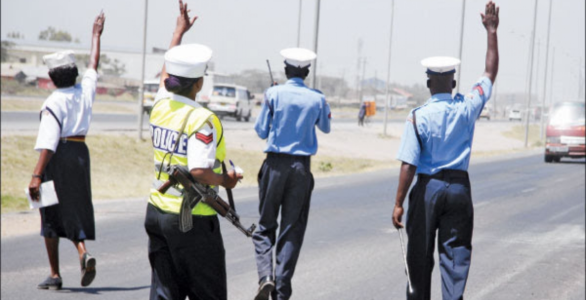 Controversial Kenya Traffic Police Department Dissolved
