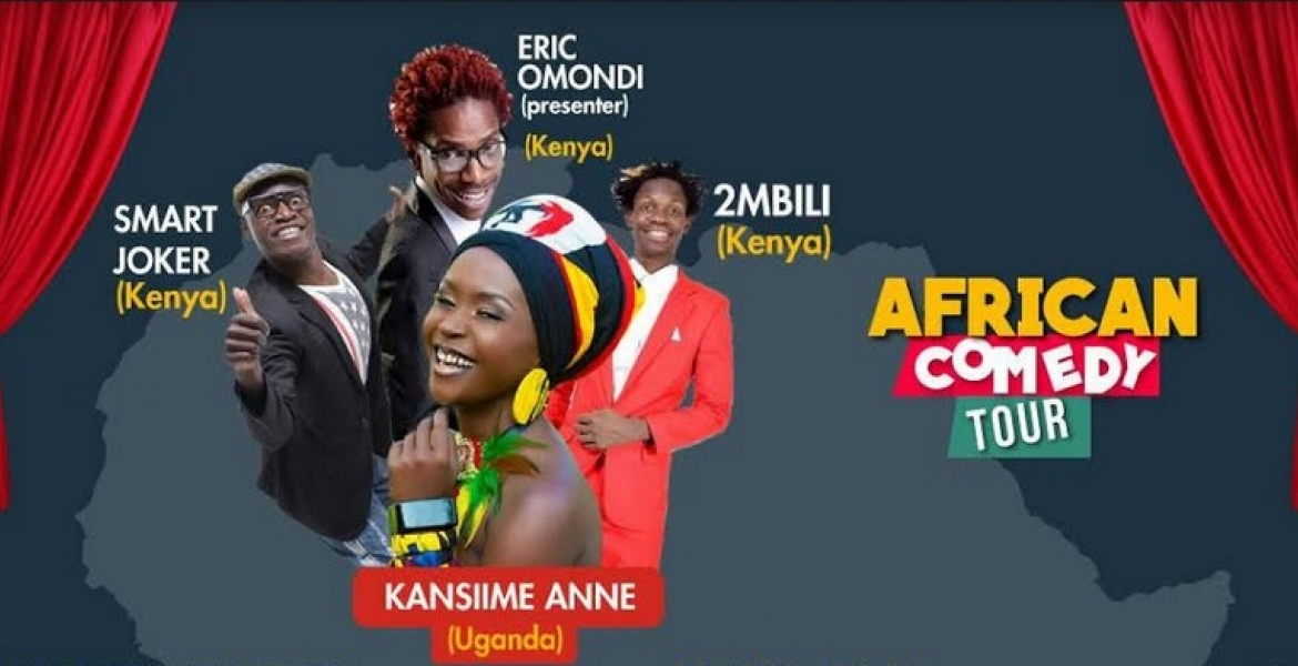 African Stand Comedy Tour Featuring Anne Kansiime, Eric Omondi among Others Coming to a US City Near You