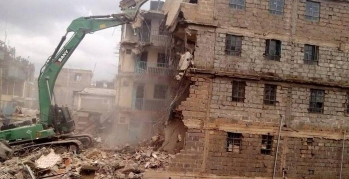 More Than 700 Unsafe Buildings to be Demolished in Nairobi