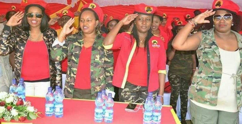 "Image result for kenya ladies wearing millitary attire"""