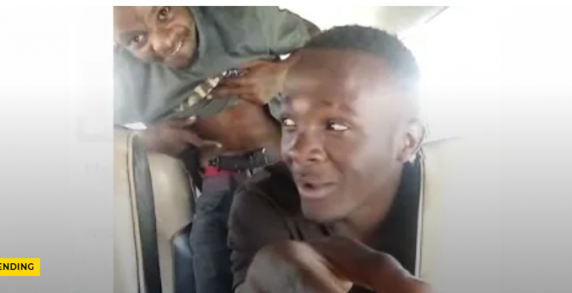 Faceless Crime Buster 'Hessy wa Dandora' Sends Warning to Two Men Filmed Brandishing Gun