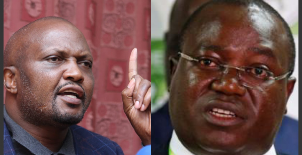 Image result for Angry Moses Kuria on Musando's death