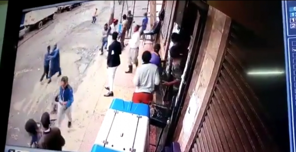 Detectives Pursue Armed Thugs Filmed Shooting Civilian in Botched Robbery in Nairobi [VIDEO]