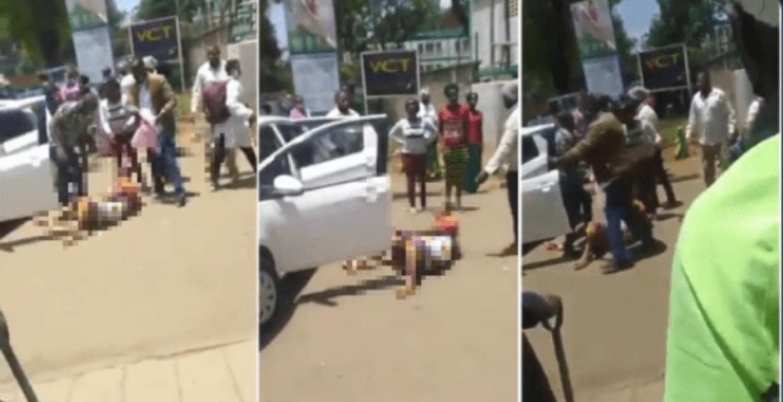 Uproar After Video of Woman Giving Birth Outside Pumwani ...