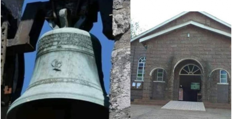 Probe as Robbers Sneak into a Kiambu Church, Steal 500Kg Imported Bell