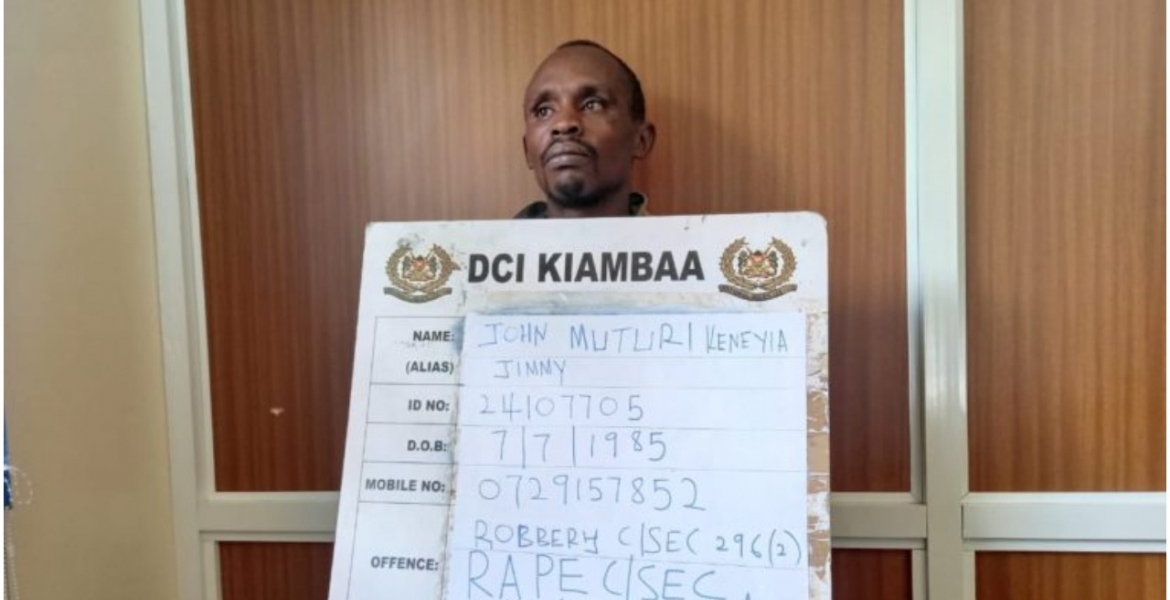 Suspected Kenyan Serial Rapist John Muturi Arrested, Confesses to Raping over 100 Women
