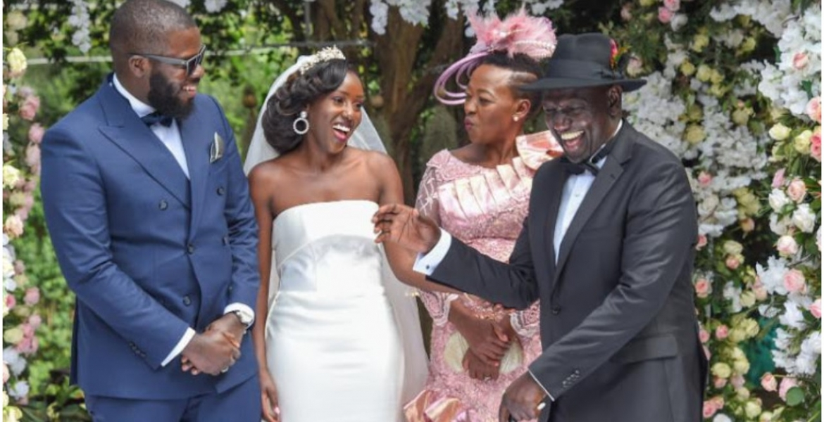 Ruto Explains Why He was Skeptical of His Daughter's Marriage to Nigerian Man