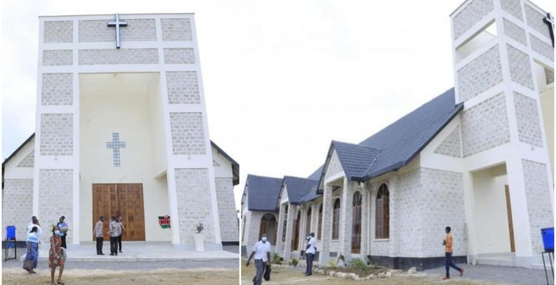 Former Chief of Defense Forces Samson Mwathethe Builds Multi-Million-Shilling Church in Kilifi