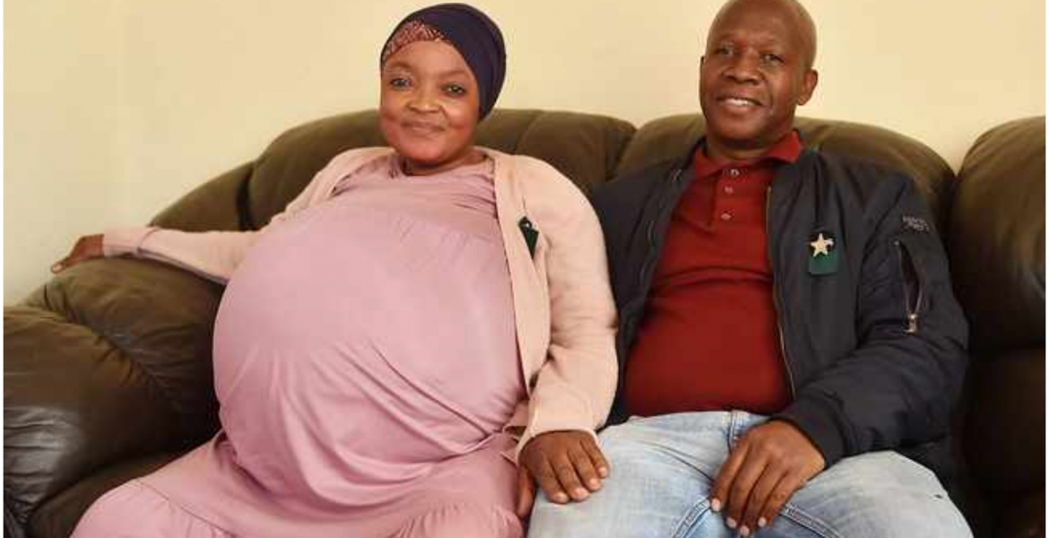 South African Woman Breaks the Guinness World Record After Giving Birth to 10 Babies