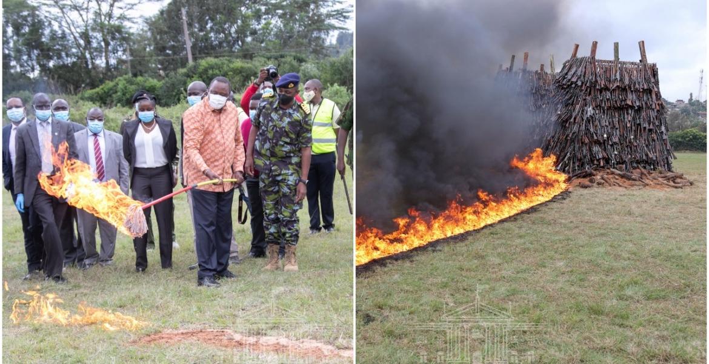 Uhuru Offers Jobs to Kenyans Making Illegal Guns at Home