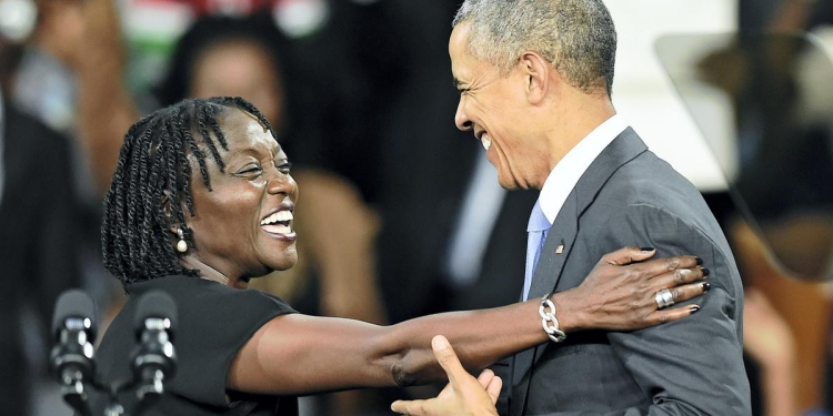 Auma Obama's Begging Comments About Kenyans Lands Her in Trouble with Online Users