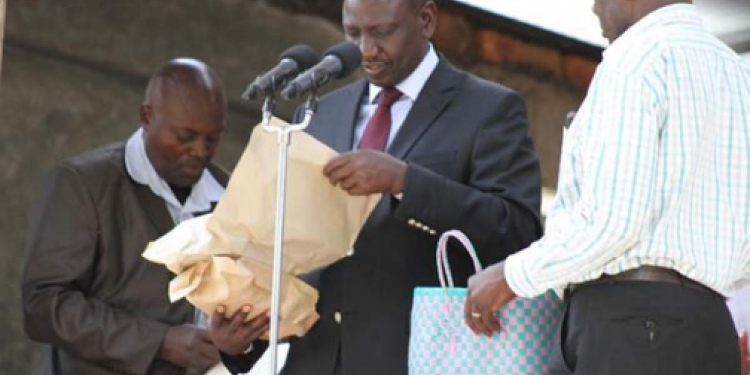 I Give My Money to God Not Witchdoctors Like You Do, DP William Ruto Tells Critics of His Church Contributions