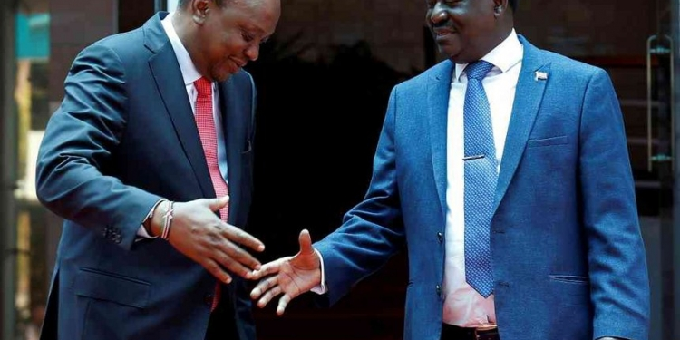 President Kenyatta Dishes State Jobs to Raila's Allies