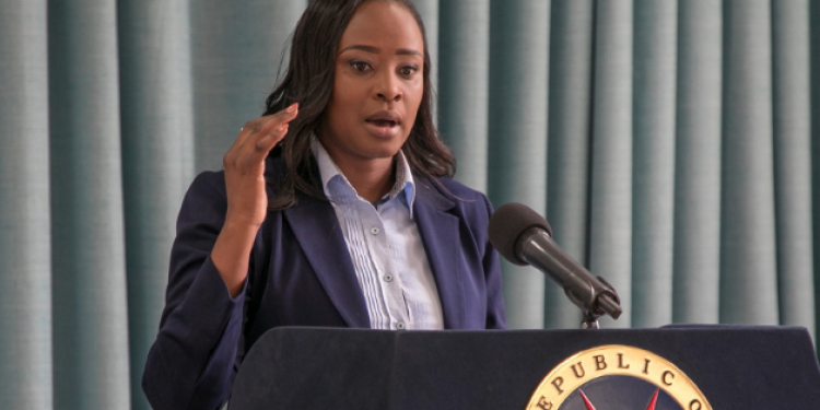President Uhuru Appoints Kanze Dena as the New State House Spokesperson