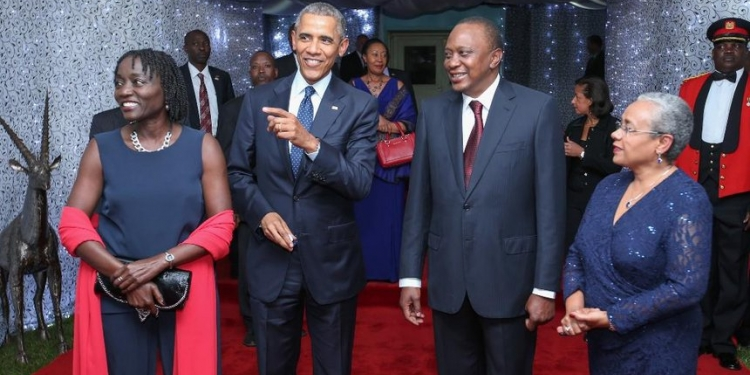 400 Dignitaries Accompanying Former US President Barack Obama to Kenya