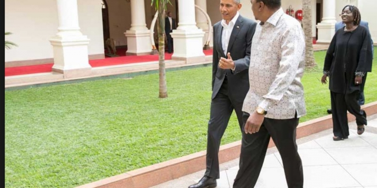 Former US President Barack Obama Lands in Kenya