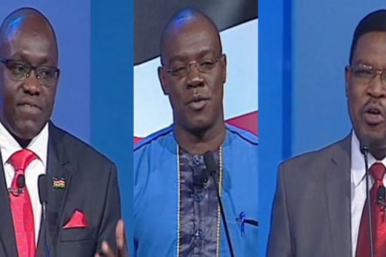 I'll Be a Matiang'i on Steroids, Former US-Based Presidential Candidate Japheth Kaluyu Says During Debate