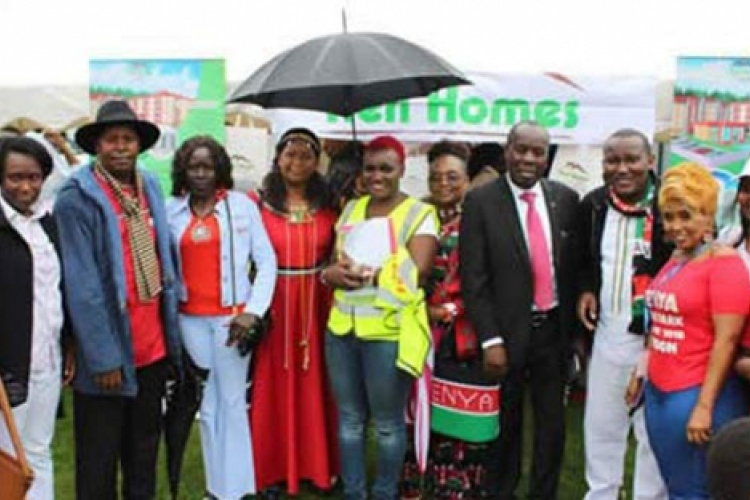 Hundreds of Kenyans in the UK Brave London Weather to Celebrate Annual Park Event