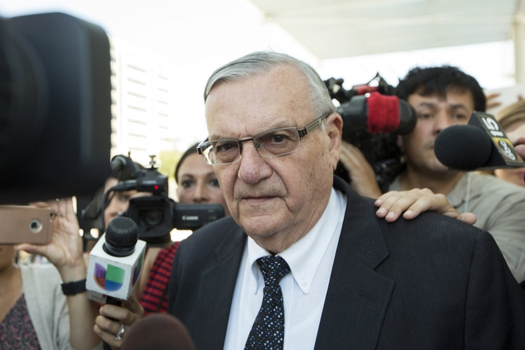 "Former ""America's Toughest Sheriff"" Joe Arpaio Convicted Of Criminal Contempt Relating to Detention of Immigration"