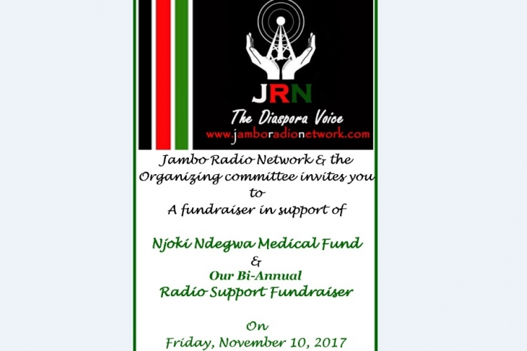 Fundraiser in Support of Njoki Ndegwa of Jambo Radio Network