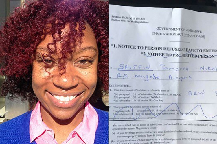Journalist Working for US News Website Deported from Zimbabwe to Nairobi