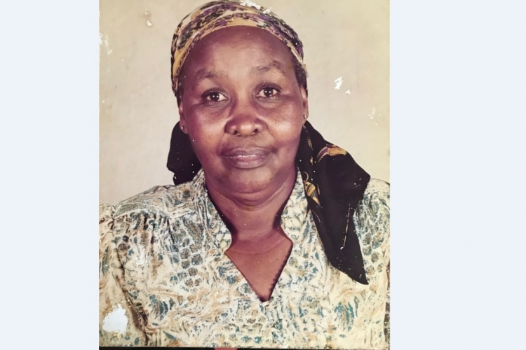 Death Announcement for Margaret Njeri Gacuca