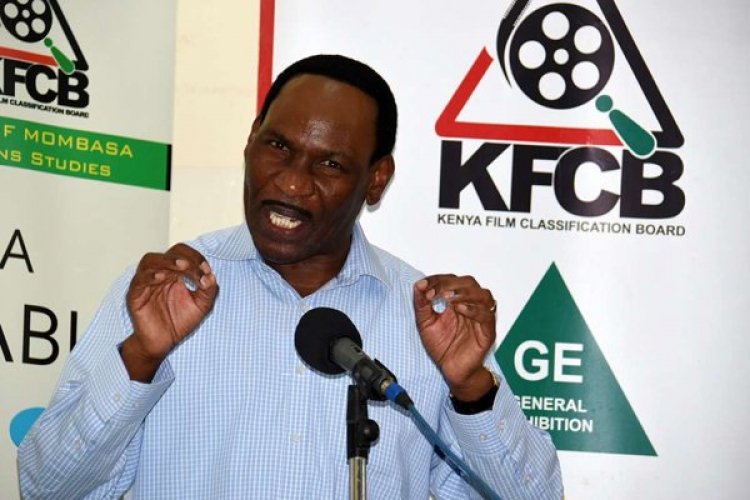 Ezekiel Mutua on the Spot for Illegally Screening Oscar-Nominated Film in the US